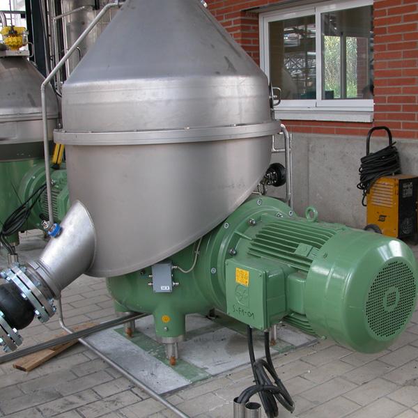 Instalación máquina filtrado grasas